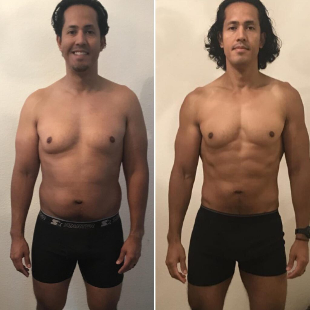 Vegan Before And After
