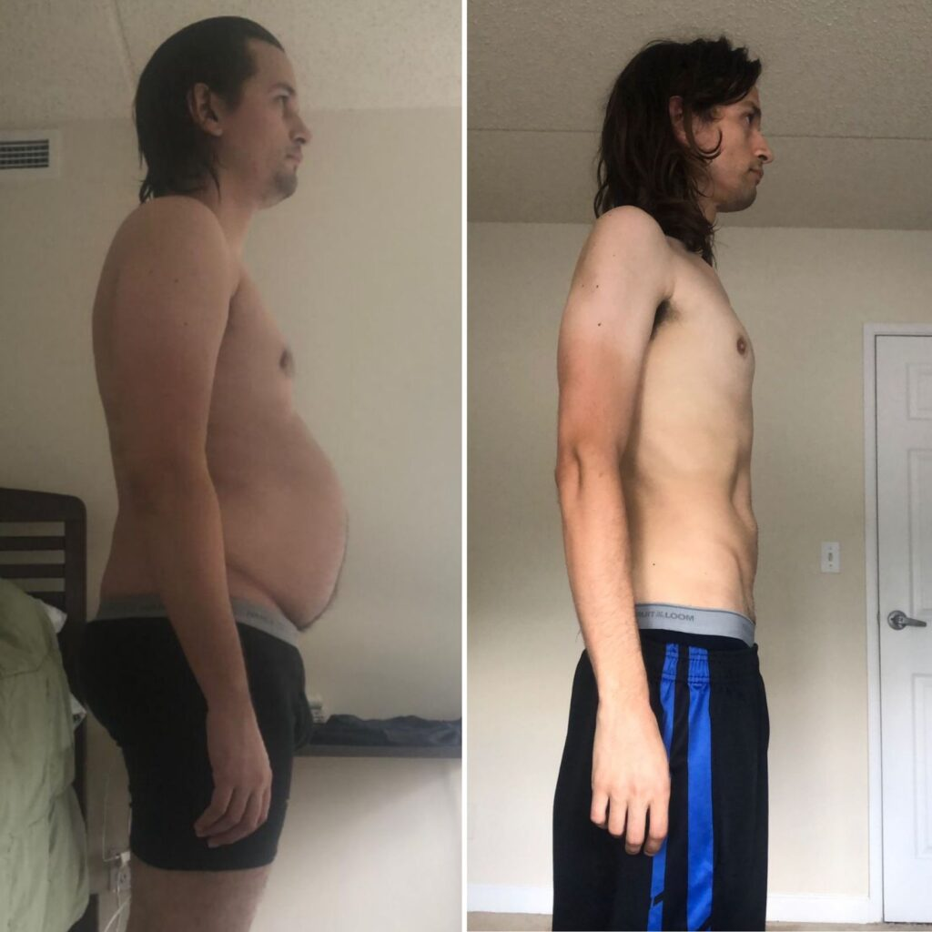 Vegan Before After